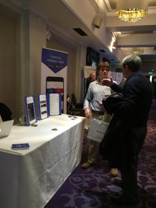 Peter Read from Pelican Exchange talks to attendees at RTCT Live!